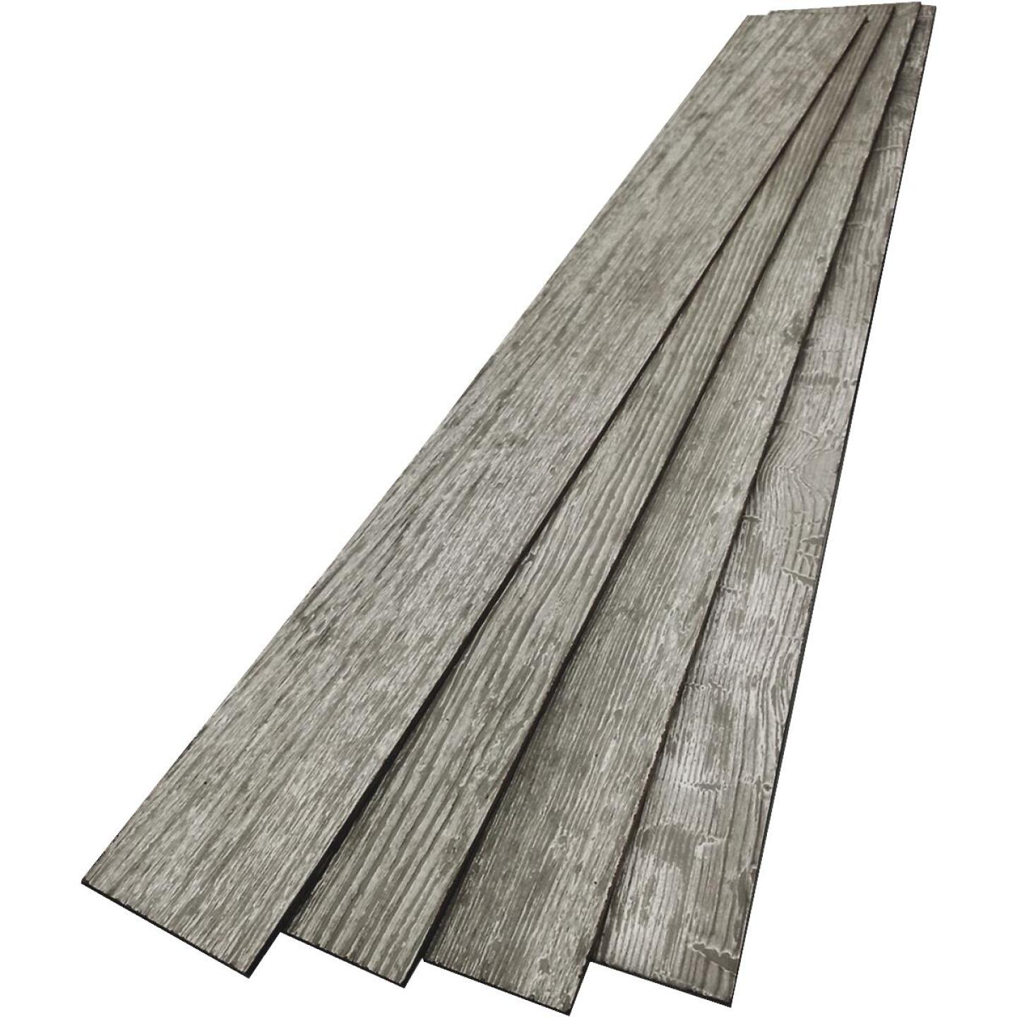 DPI 6 In. W. x 48 In. L. x 1/4 In. Thick Thunder Gray Rustic Wall Plank (12-Pack) Image 2