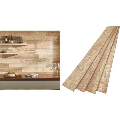 DPI 6 In. W. x 48 In. L. x 1/4 In. Thick Driftwood Rustic Wall Plank (12-Pack)