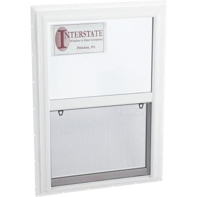 Interstate Model 5100 30 In. W. x 42 In. H. White Single Hung Window