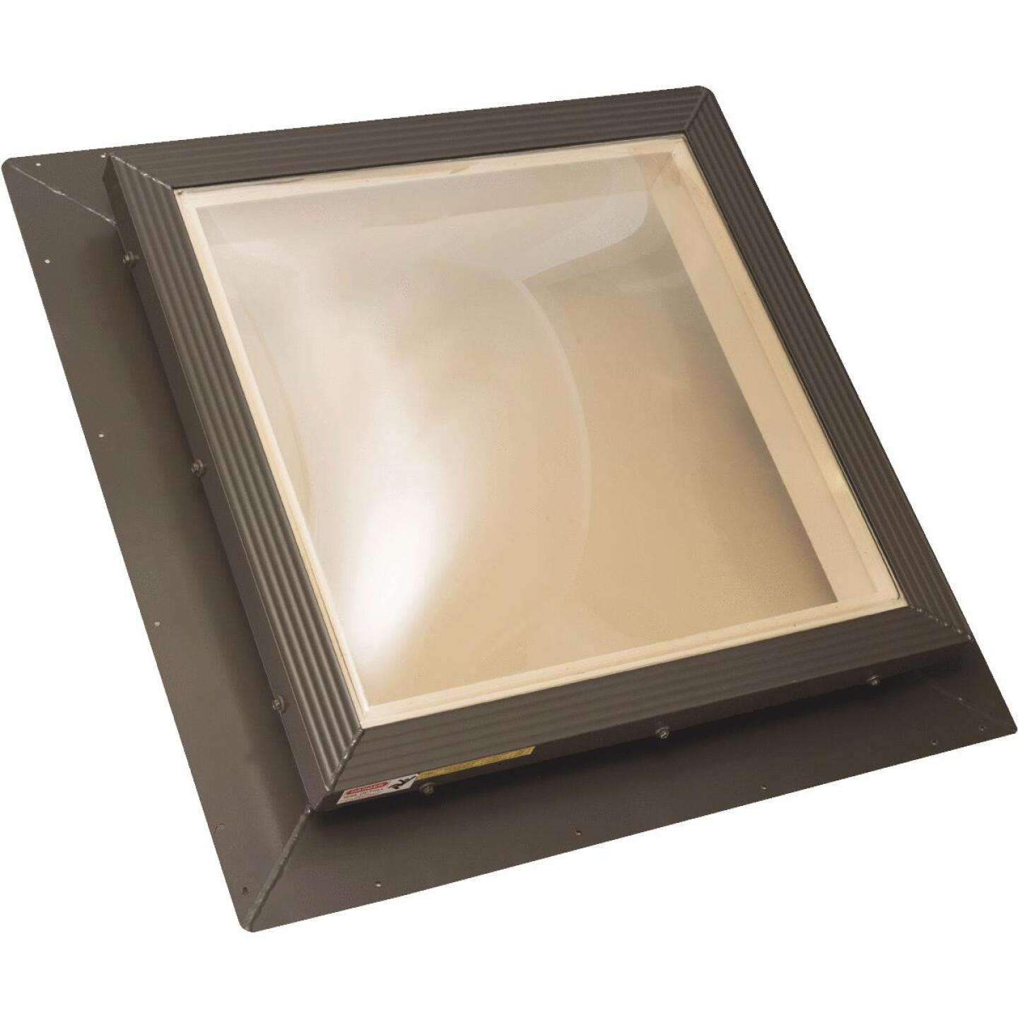 Kennedy Skylights 24 In. x 24 In. Bronze Hurricane Approved Skylight Image 1
