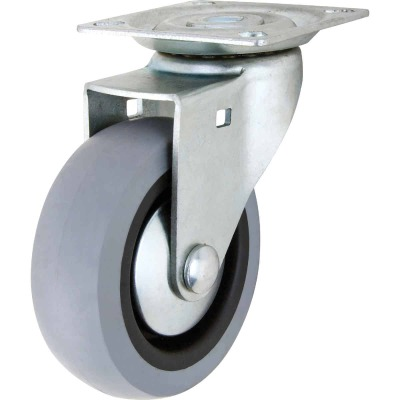 Shepherd 3 In. Thermoplastic Swivel Plate Caster