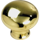 Laurey Polished Brass 1-1/4 In. Cabinet Knob Image 1