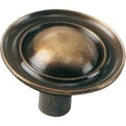 Laurey Antique Brass Ambassador 1-1/4 In. Cabinet Knob Image 1