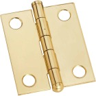 National 1-1/4 In. x 1-1/2 In. Brass Ball Tip Hinge (2-Pack) Image 1