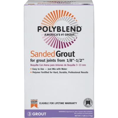 Custom Building Products Polyblend 7 Lb. Linen Sanded Tile Grout