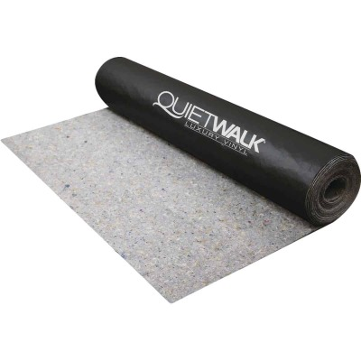 QuietWalk Luxury Vinyl 3 Ft. W x 33.33 Ft. L Underlayment with Vapor Barrier, 100 Sq. Ft./Roll