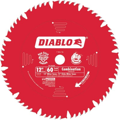 Diablo 12 In. 60-Tooth Combination Circular Saw Blade