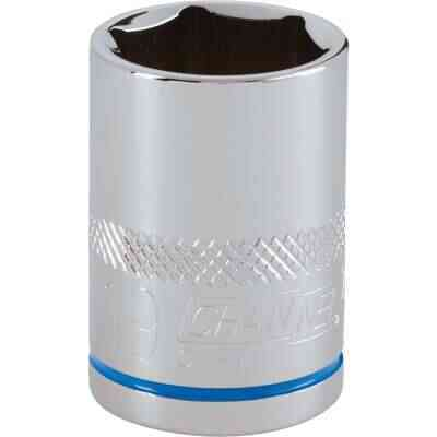 Channellock 1/2 In. Drive 19 mm 6-Point Shallow Metric Socket