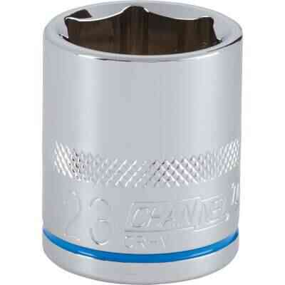 Channellock 1/2 In. Drive 23 mm 6-Point Shallow Metric Socket
