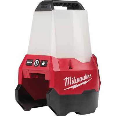Milwaukee M18 RADIUS 18 Volt Lithium-Ion LED Cordless Work Light with Flood Mode (Bare Tool)