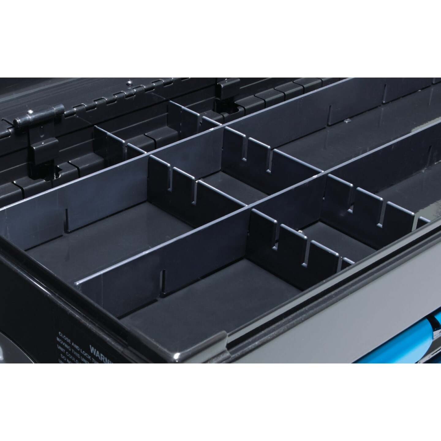 Channellock 26 In. 7-Drawer Black and Blue Tool Chest Image 8