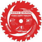 Diablo Demo Demon 6-1/2 In. 24-Tooth Framing/Demolition Circular Saw Blade Image 1