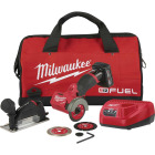 Milwaukee M12 FUEL 12-Volt Lithium-Ion Brushless 3 In. Compact Cordless Cut-Off Tool Kit Image 1
