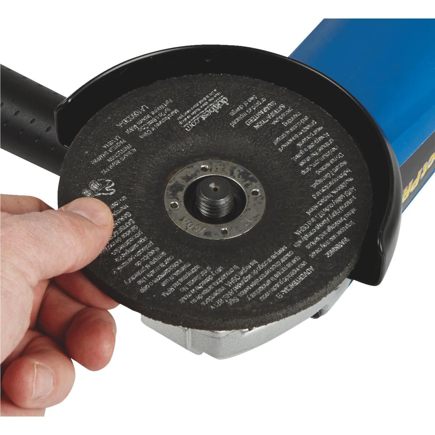 Project Pro 4-1/2 In. 10-Amp Angle Grinder Image 6