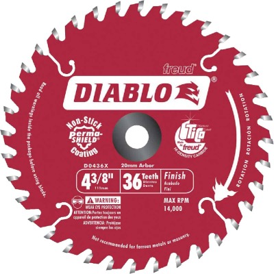 Diablo 4-1/2 In. 36-Tooth Finish Circular Saw Blade