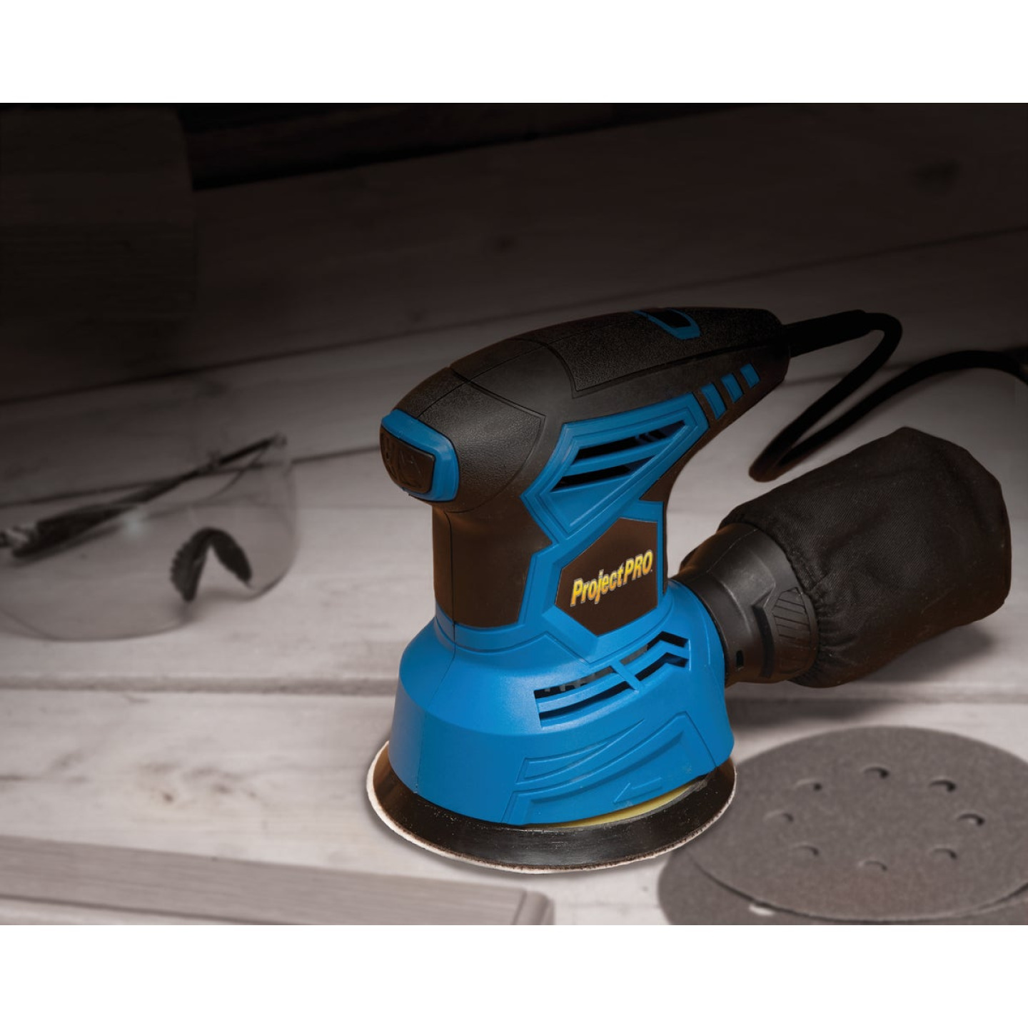 Project Pro 5 In. 2.0A Random Orbit Sander Kit Image 2