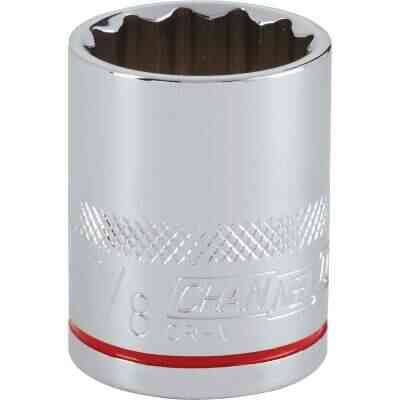 Channellock 1/2 In. Drive 7/8 In. 12-Point Shallow Standard Socket