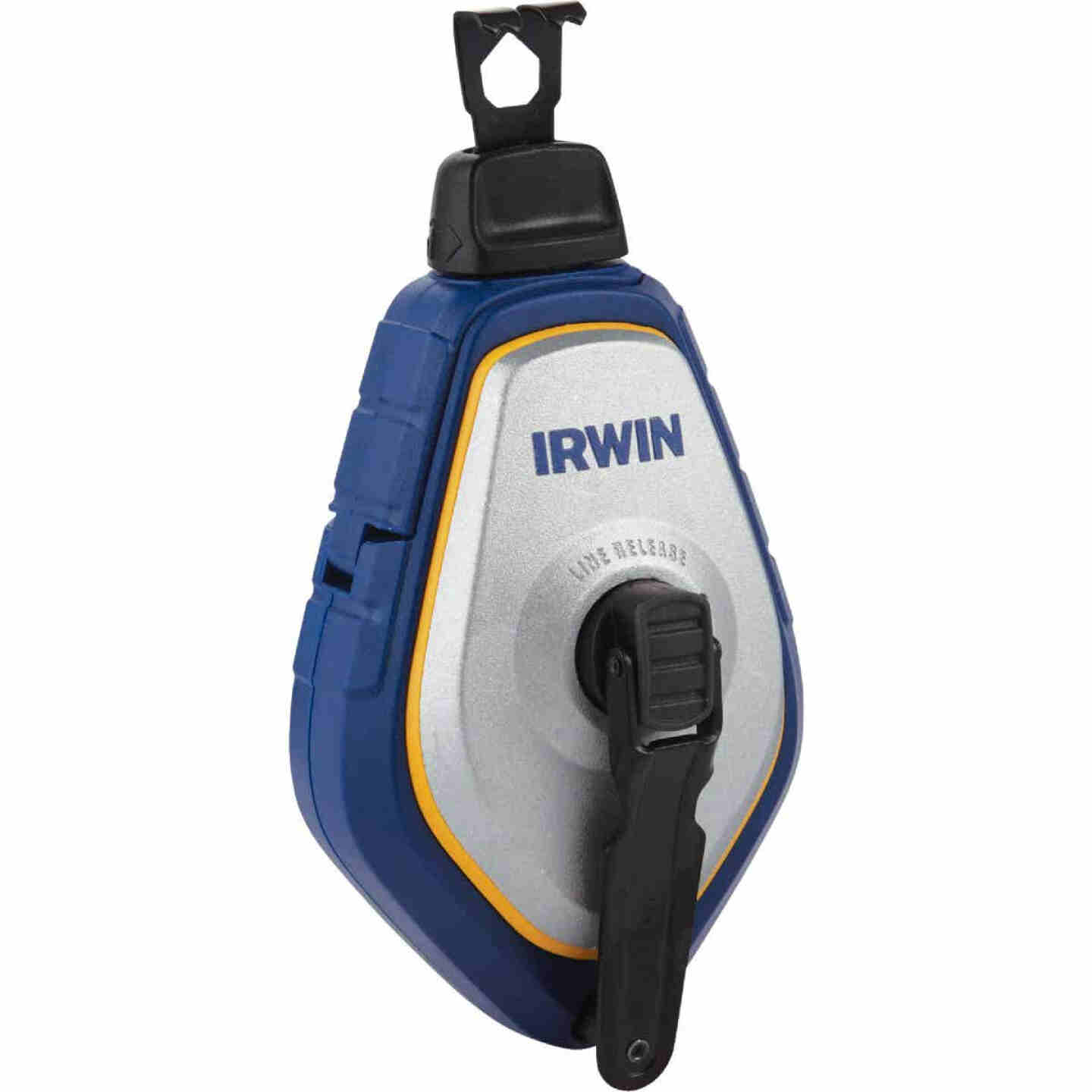 Irwin STRAIT-LINE Speed-Line Pro 100 Ft. Chalk Line Reel Image 1