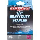 Channellock No. 6 Heavy-Duty Wide Crown Staple, 1/2 In. (1000-Pack) Image 1
