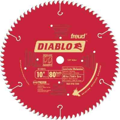 Diablo 10 In. 84-Tooth Laminate Circular Saw Blade