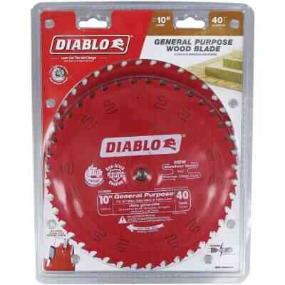 Diablo 10 In. 40-Tooth General Purpose Circular Saw Blade (2-Pack)