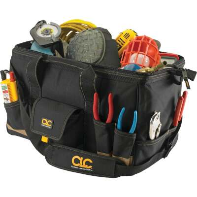 CLC 25-Pocket 18 In. Megamouth Tool Bag