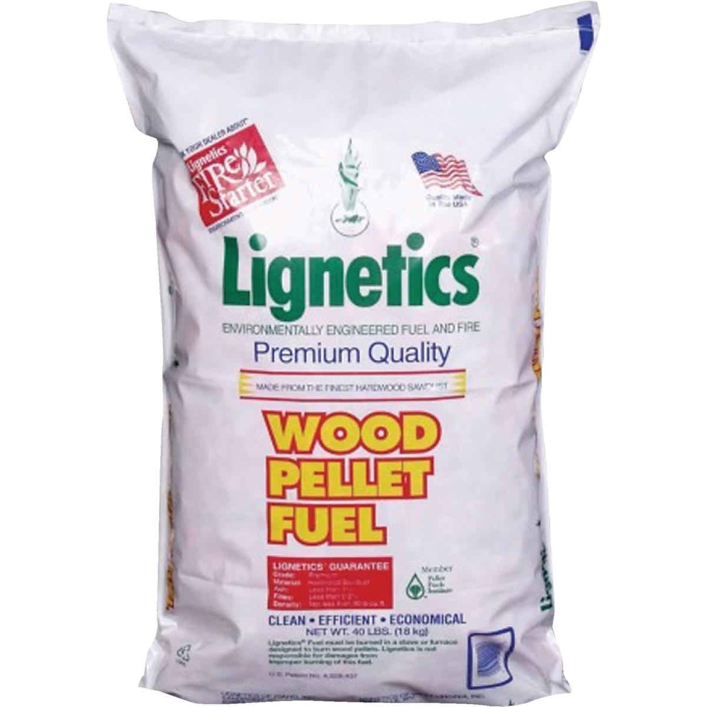 Lignetics 40 Lb. Wood Pellet Fuel Image 1