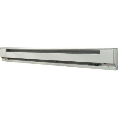 Fahrenheat 72 In. 1500-Watt 120-Volt Electric Baseboard Heater, Northern White