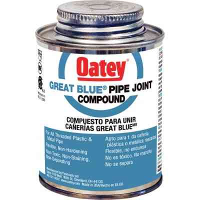 Oatey Great Blue 4 Fl. Oz. Blue Pipe Compound