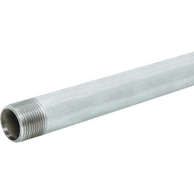 Southland 1/2 In. x 10 Ft. Carbon Steel Theaded Galvanized Pipe
