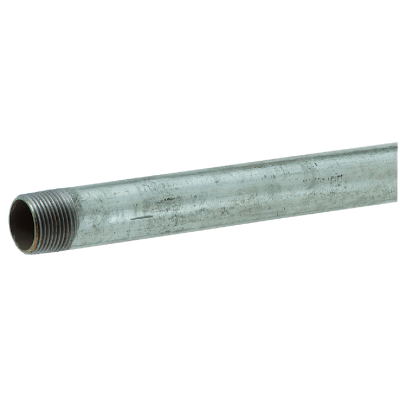 Southland 1/2 In. x 48 In. Carbon Steel Threaded Galvanized Pipe