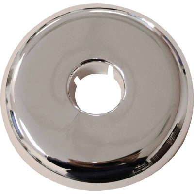 Jones Stephens 1-1/2 In. IPS Chrome-Plated Polypropylene Flexible Flange