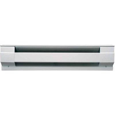 Cadet 72 In. 1500-Watt 240-Volt Electric Baseboard Heater, White
