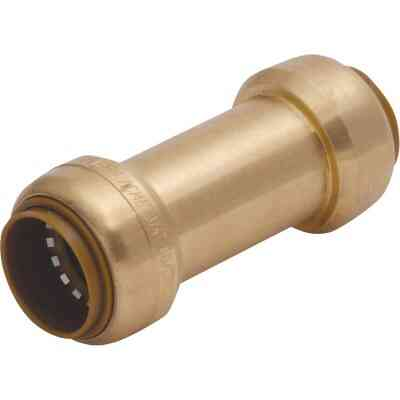Sharkbite 1/2 In. Brass Push Check Valve