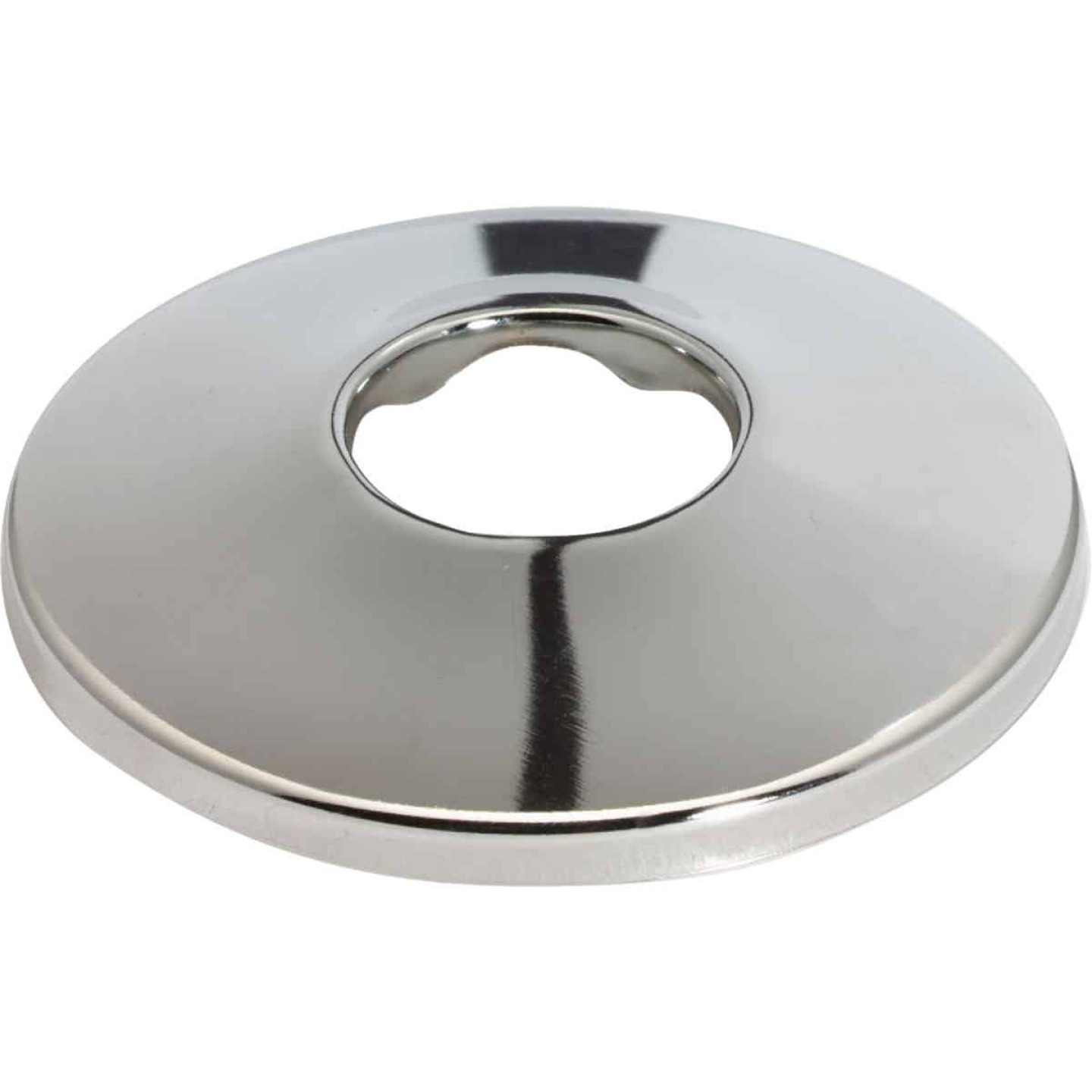 Do it Best 3/4 In. CTS Chrome-Plated Shallow Flange Image 1