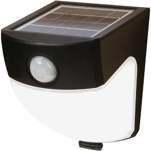 All-Pro Black Motion Sensing Dusk To Dawn LED Floodlight Fixture