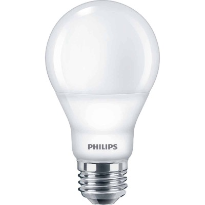Philips SceneSwitch 60W Equivalent Soft White/Warm White/Warm Glow A19 Medium LED Light Bulb