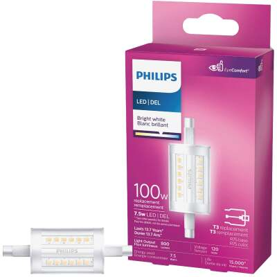 Philips 100W Equivalent Bright White T3 RSC Base LED Special Purpose Light Bulb