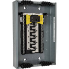 Square D Homeline Qwik-Grip 100A 40-Circuit 20-Space Indoor Main Breaker Plug-On Neutral Load Center Image 1