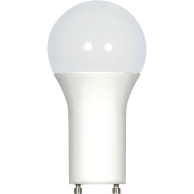Satco 100W Equivalent Warm White A19 GU24 LED Light Bulb
