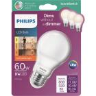 Philips SceneSwitch 60W Equivalent Soft White A19 Medium LED Light Bulb Image 1