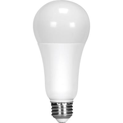 Satco 100W Equivalent Natural Light A19 Medium Dimmable LED Light Bulb