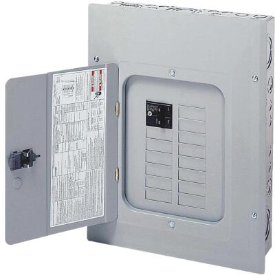 Eaton BR 100A 10-Space 20-Circuit Indoor Plug-On Neutral Load Center