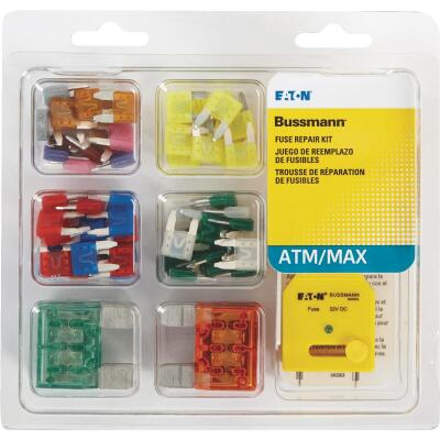 Bussmann ATM, MAX & FT Blade Fuse Assortment (64-Piece)