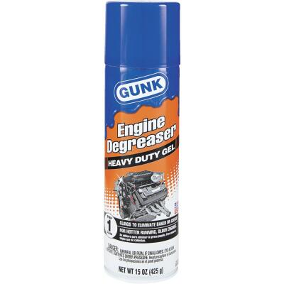 Gunk 15 Oz. Gel Engine Cleaner/Degreaser