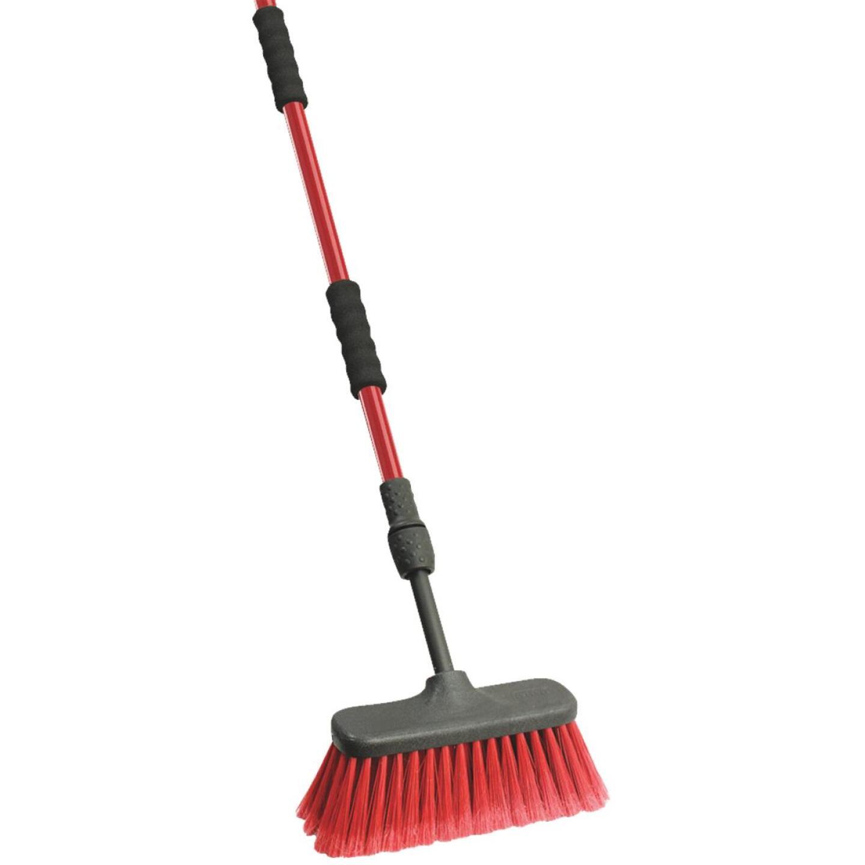 Libman 6.5 Ft. Flow-Thru Wash Brush Image 1