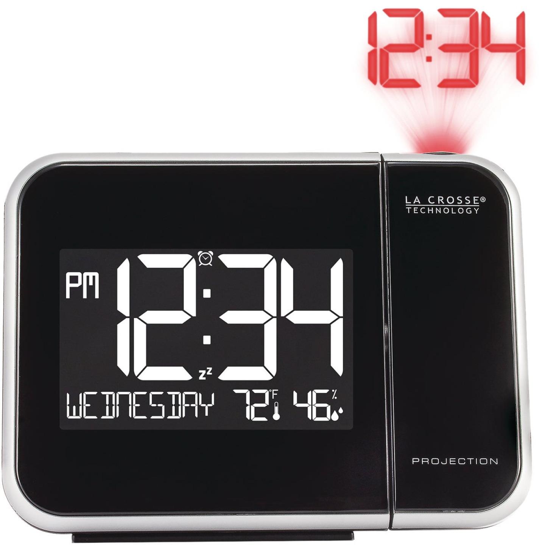 La Crosse Technology Projection Electric Alarm Clock Image 1