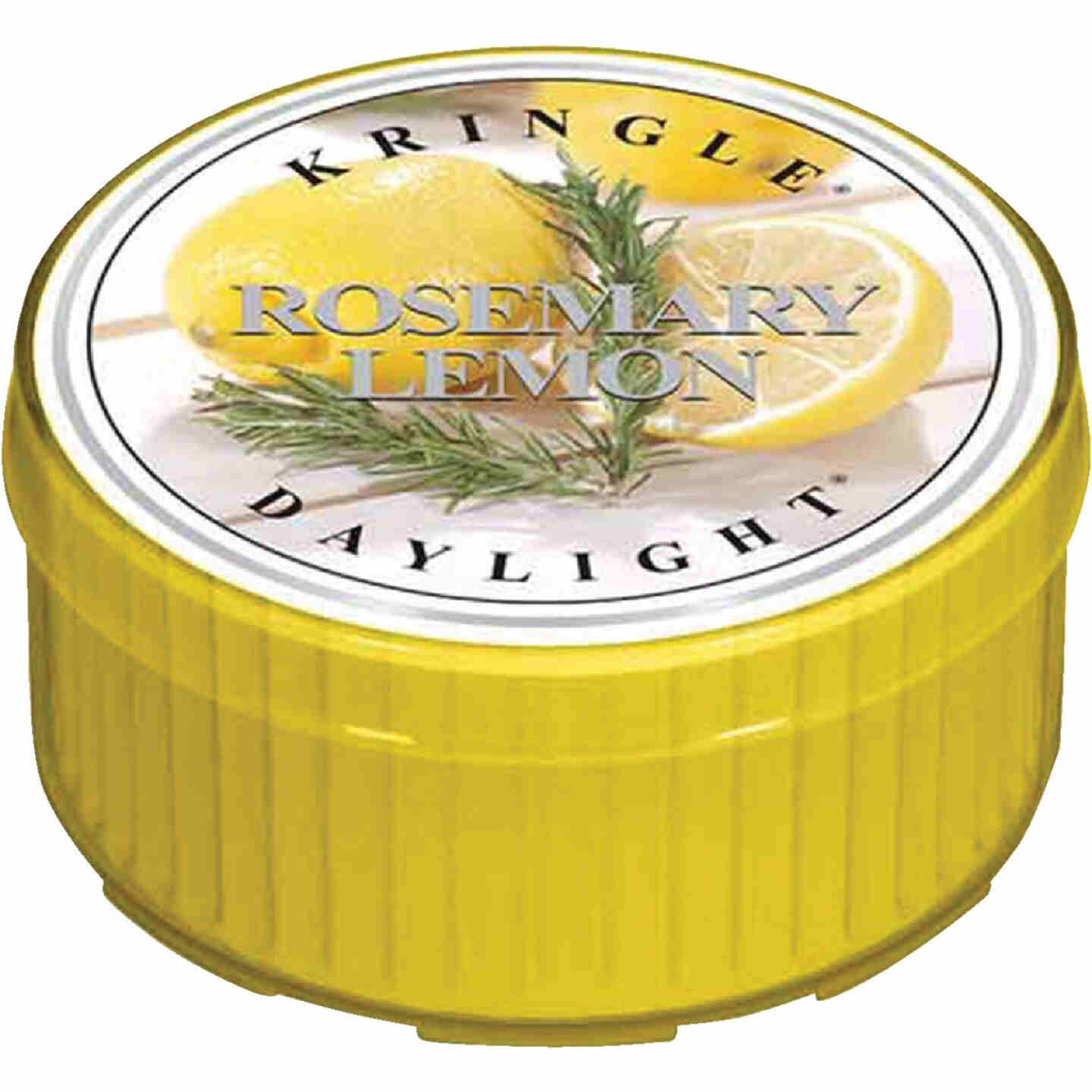 Kringle Candle Country Candle Rosemary Lemon Daylight Candle Image 1
