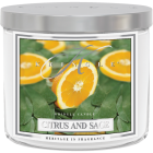 Kringle Candle 14.5 Oz. Citrus & Sage Jar Candle Image 1