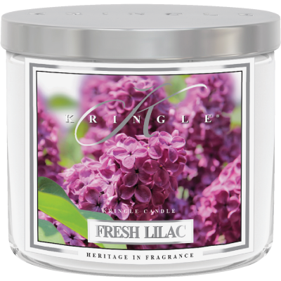 Kringle Candle 14.5 Oz. Fresh Lilac Jar Candle